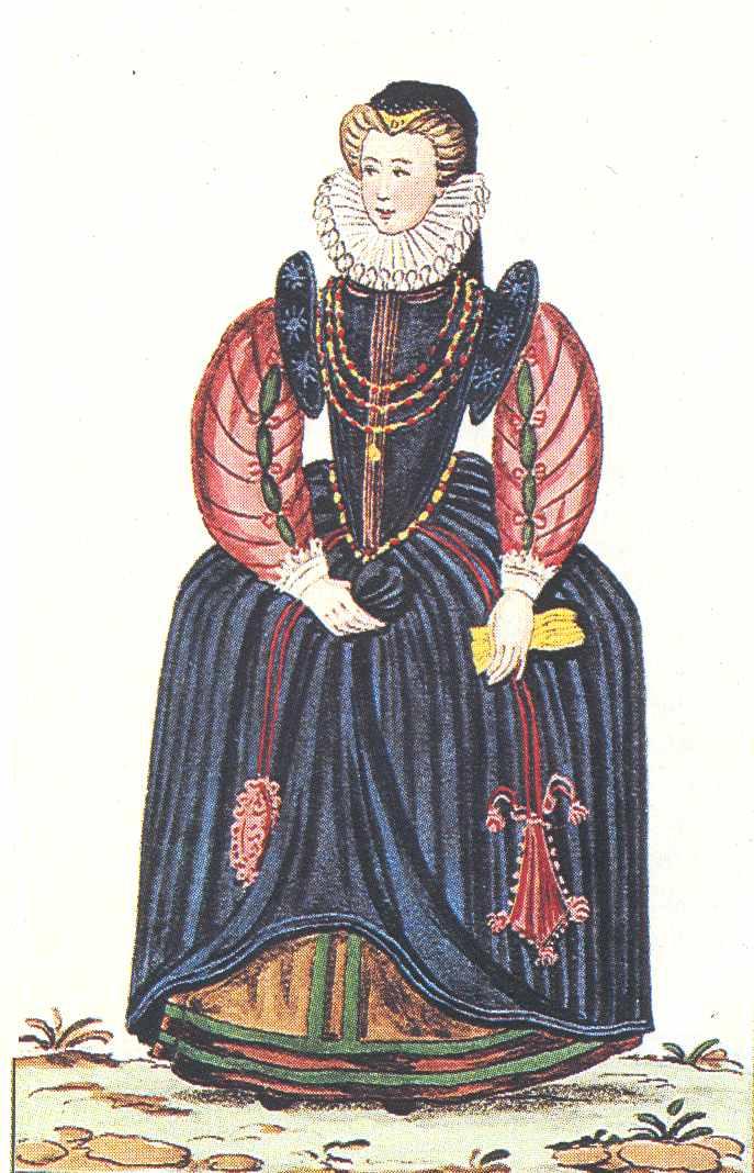 В конце 90-х годов и в начале XVII века французы уже выделывали шелковые тк